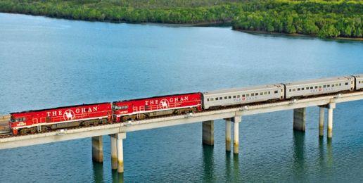 Treinreizen in Australië
