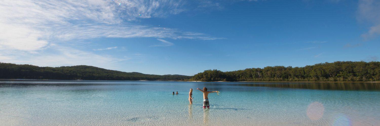 Header Fraser Island Lake Mc Kenzie
