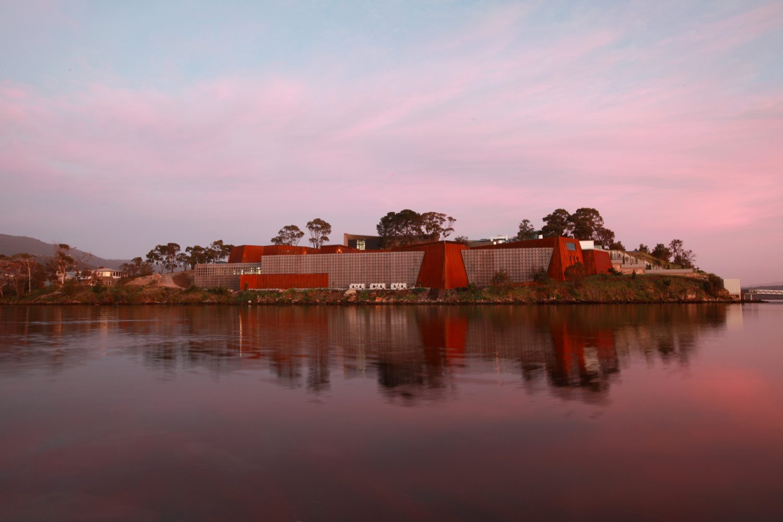 Das Museum of Old and New Art in Hobart erreichen Sie mit dem Wassertaxi