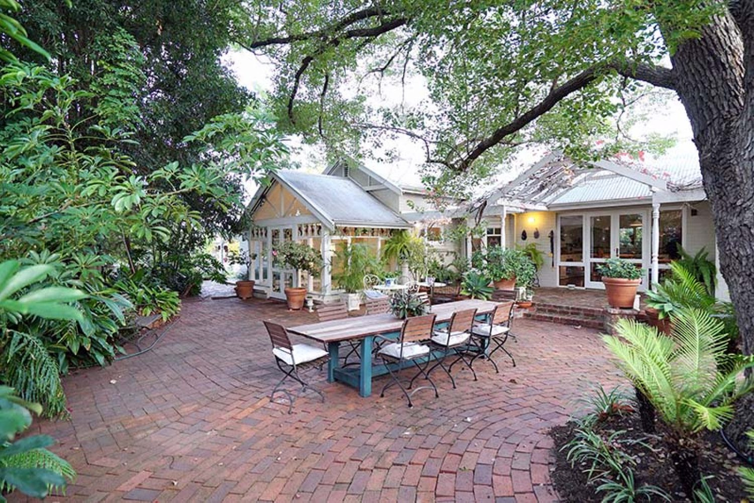 Perth: Durack House Bed and Breakfast - Terrasse