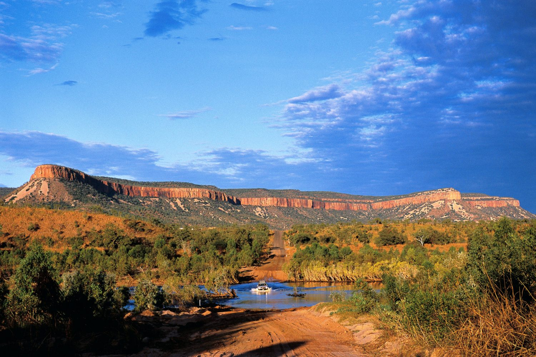 Kimberley Region: Pentecost River nahe der Cockburn Range