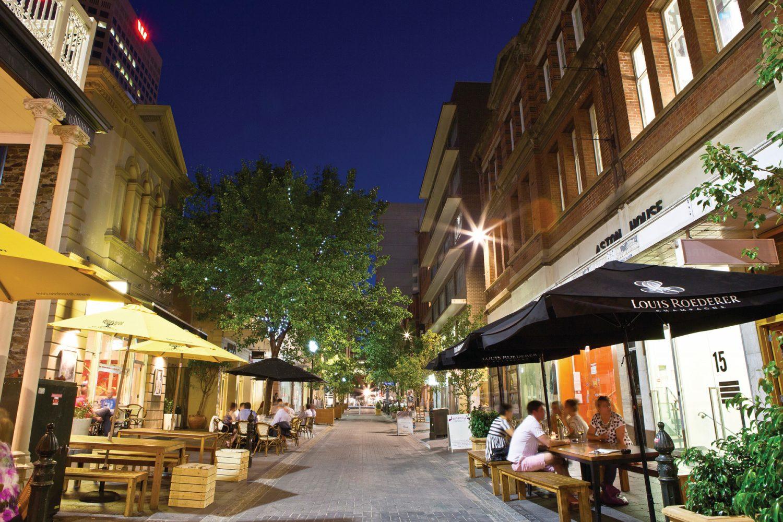 Adelaide: Leigh Street