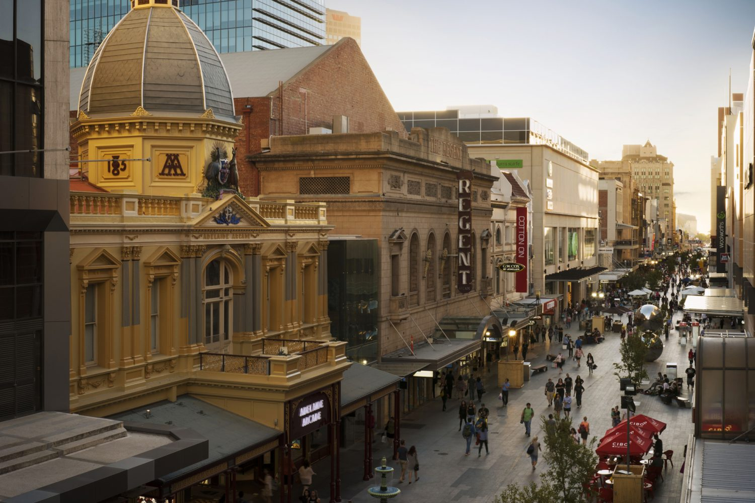 Adelaide: Rundle Mall