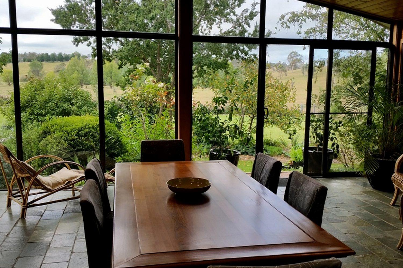 Glenhope Bed & Breakfast: Blick in den Garten