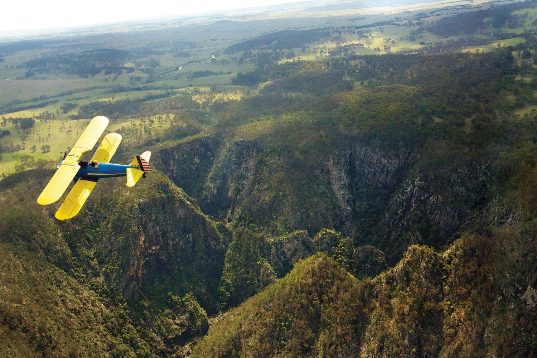 Armidales Umgebung bei einem Rundflug mit Armidale Airplane erleben