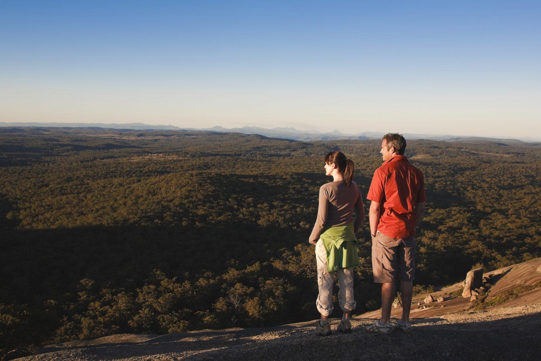 Weite Ausblicke im Bald Rock National Park genießen