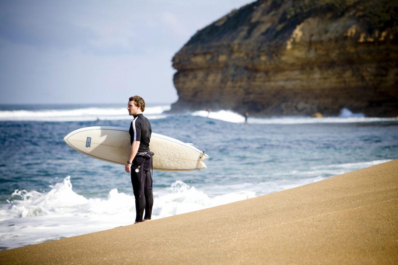 Surfer am Bells Beach