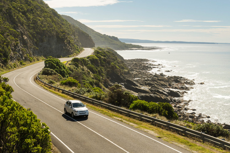 Fahrt entlang der Great Ocean Road