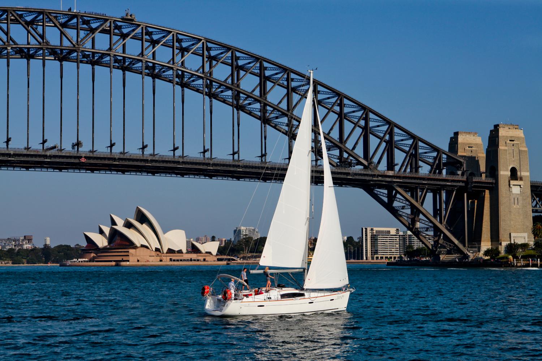 Segeln im Sydney Harbour