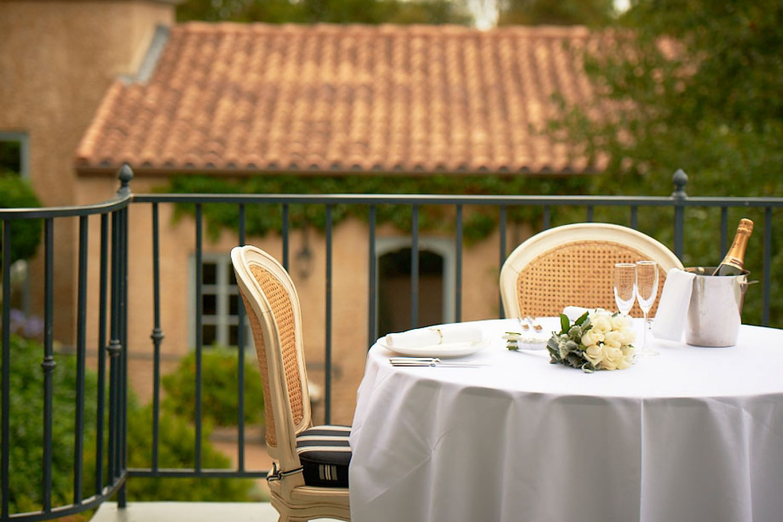Villa Howden: Terrasse