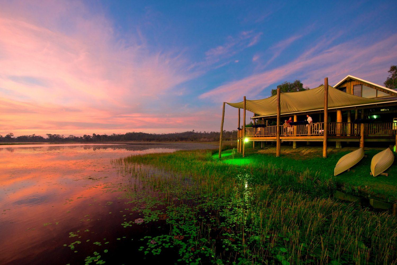 Wildnis Lodges in Australien bieten Ihnen das perfekte Outdoor-Erlebnis