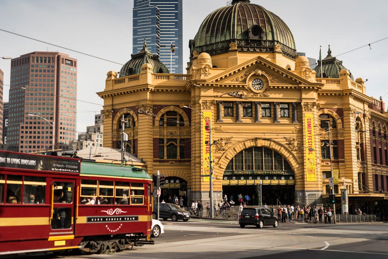 Melbourne: Flinders Street Station