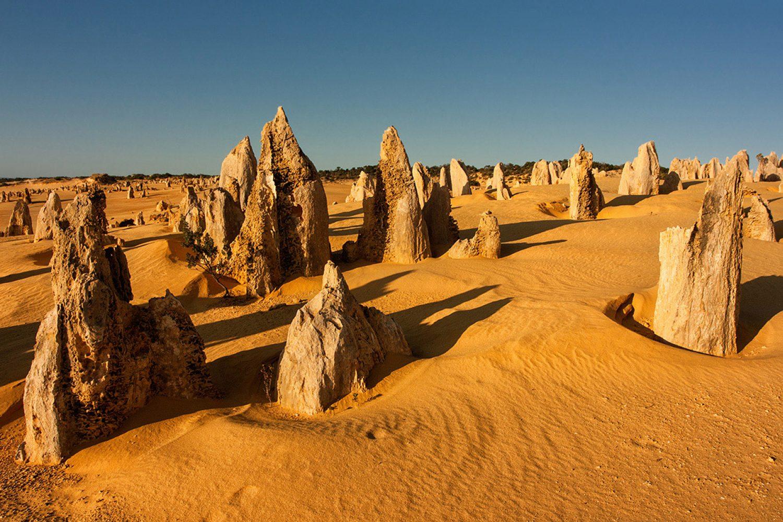 Australien Urlaub: Westaustralien - Nambung Nationalpark Pinnacles