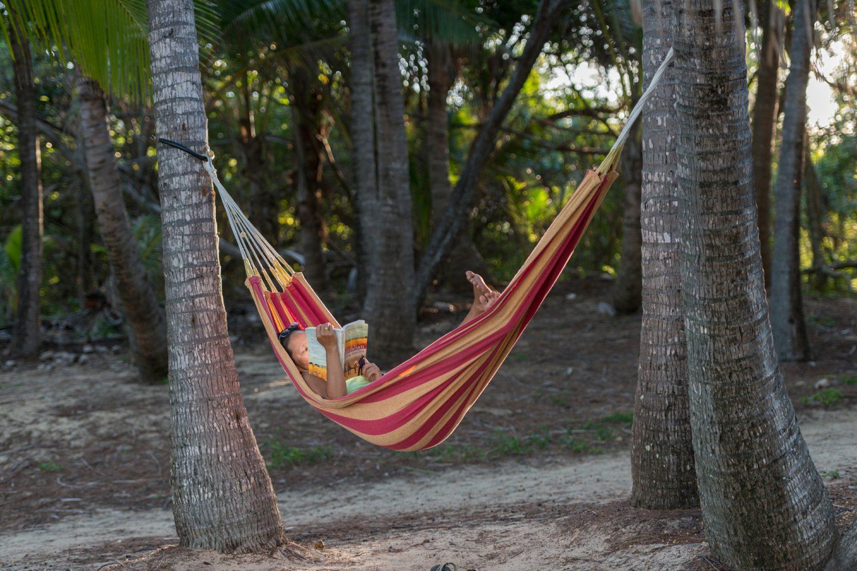 Thala Beach Lodge: Entspannen in der Hängematte