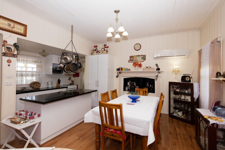 Tenterfield Cottage: Wohnbereich und Küche