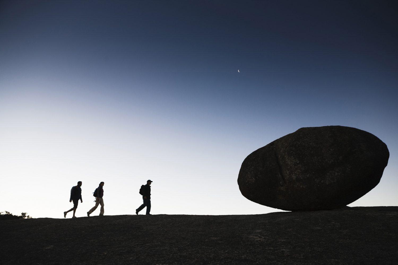 Tenterfield: Granitfelsen im Bald Rock Nationalpark