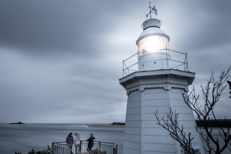 The Bonnet Island: Leuchturm