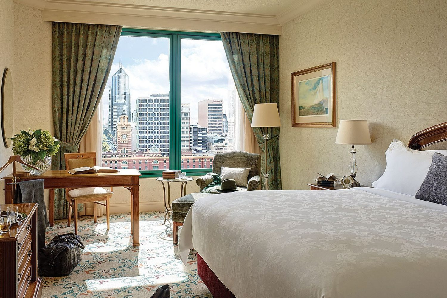 The Langham Melbourne: Deluxe River King Room