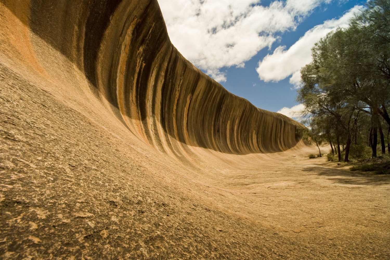Australien Urlaub: Westaustralien - Wave Rock