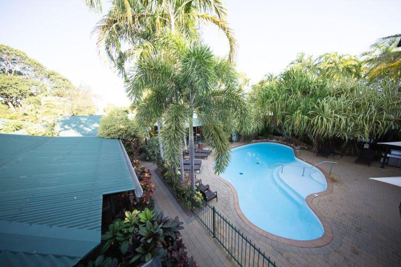 Pool im Darwin City Resort