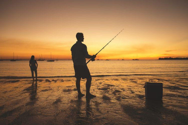 Sonnenuntergang im Top End Australiens