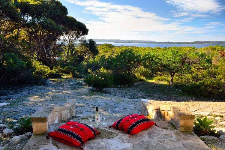 Kangaroo Island: Ferienhaus mit Blick auf die Küste