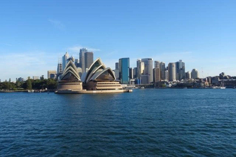 Die Skyline von Sydney und das Opernhaus