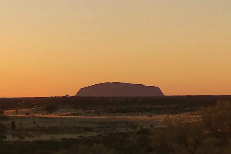 Uluru: Sonnenuntergang