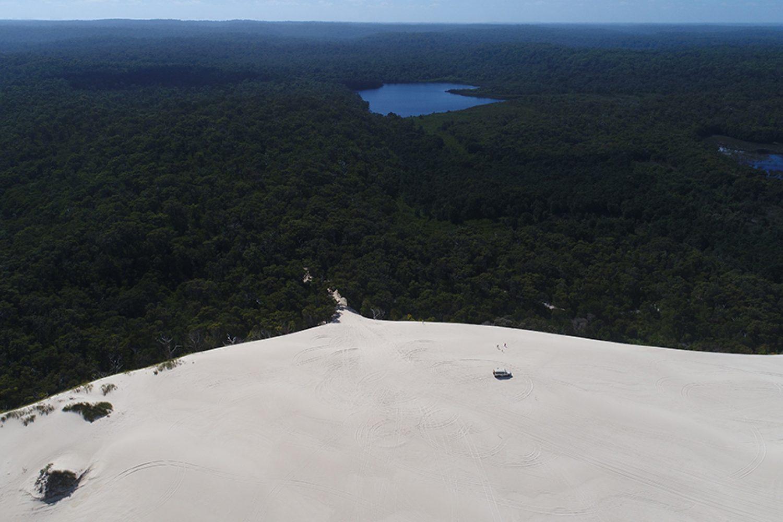 Sanddünen und Karriwälder bei Pemberton