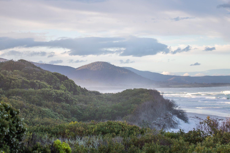 Denison Beach in Tasmanien - Morgenstimmung
