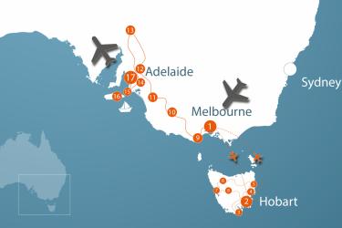 12128 12665 Tasmania South Australia New 01