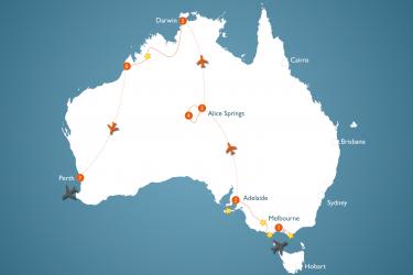 Alt Au 4 W Australien Kleingruppentour