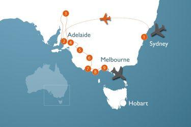 Alt Au 3 W Sydney Adelaide Melbourne