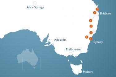 Australien Rundreise: Sydney bis Brisbane