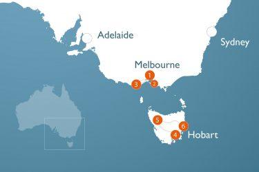 Australien Rundreise: Zwei Personen Victoria und Tasmanien