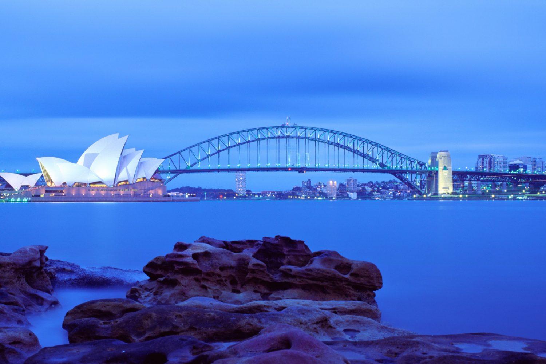Das Opernhaus und der Hafen von Sydney bieten zu jeder Tageszeit eine faszinierende Kulisse