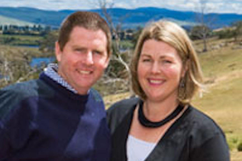 Curringa Farm: Ihre Gastgeber Tim und Jane