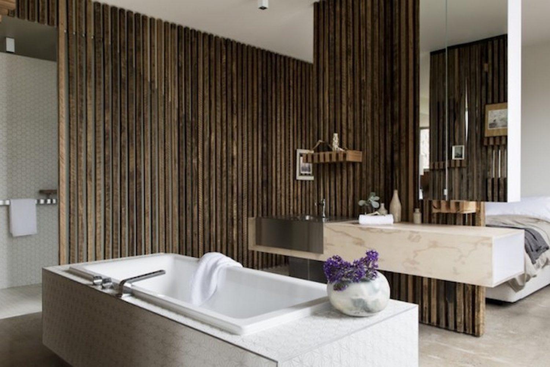 Het bad van Drift House in Port Fairy