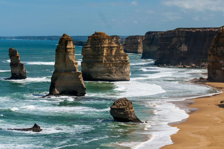 Great Ocean Road: Sehenswürdigkeit - Die 12 Apostles