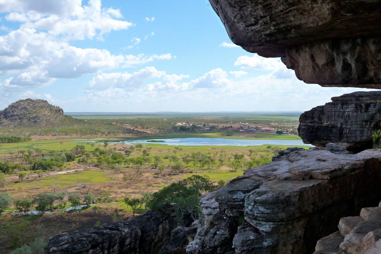 Weitblick über die Wetlands im Kakadu Nationalpark