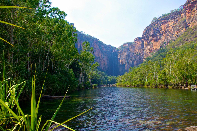 Twin Falls im Kakadu Nationalpark