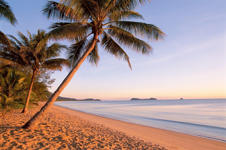 Zum Resort gehört außerdem ein privater Strandabschnitt.