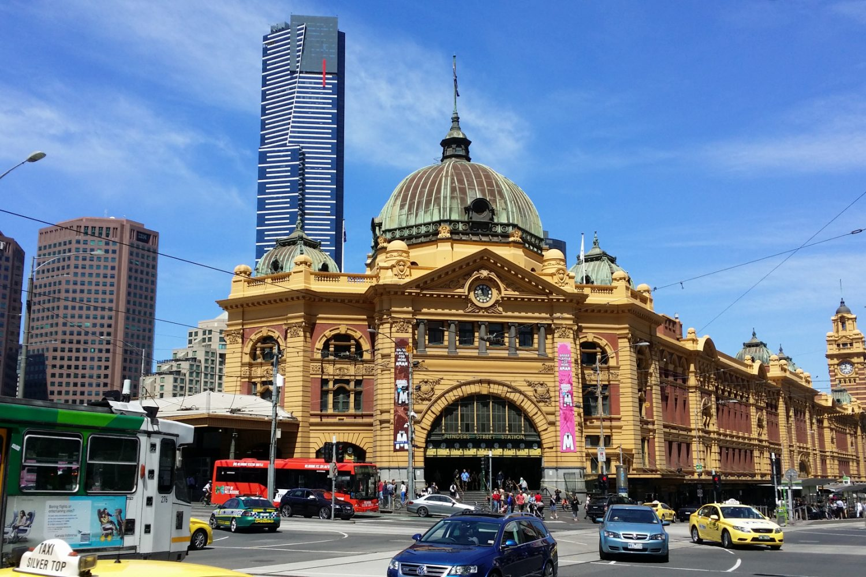 Melbourne in Australië