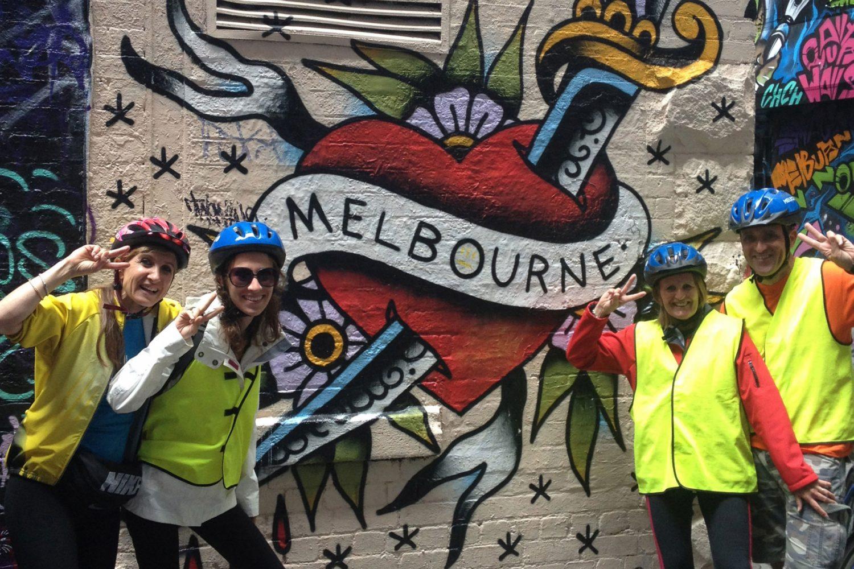 Australien: Melbourne by Bike Tour