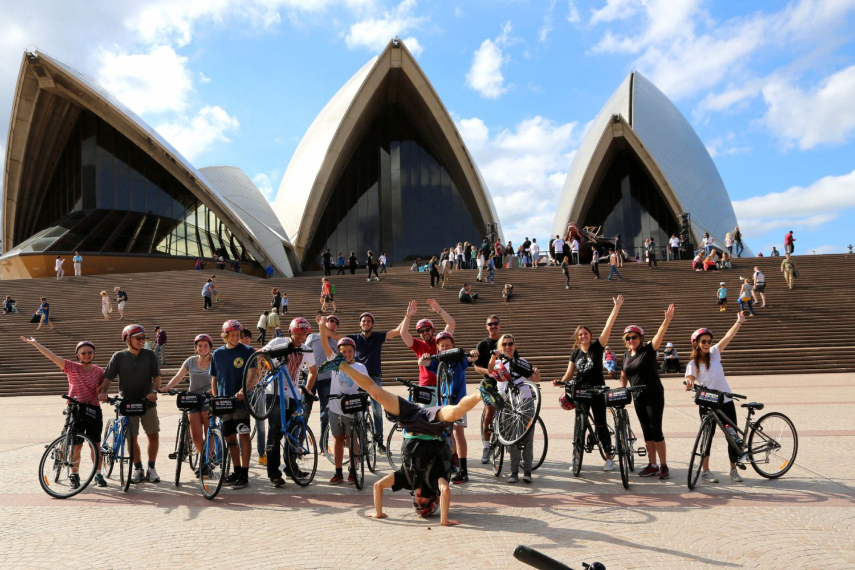 Australien Sydney Bonza Bike Tour