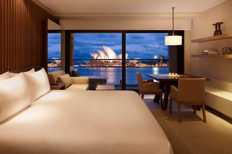 Vanuit het hotel heeft u een prachtig uitzicht over de haven van Sydney