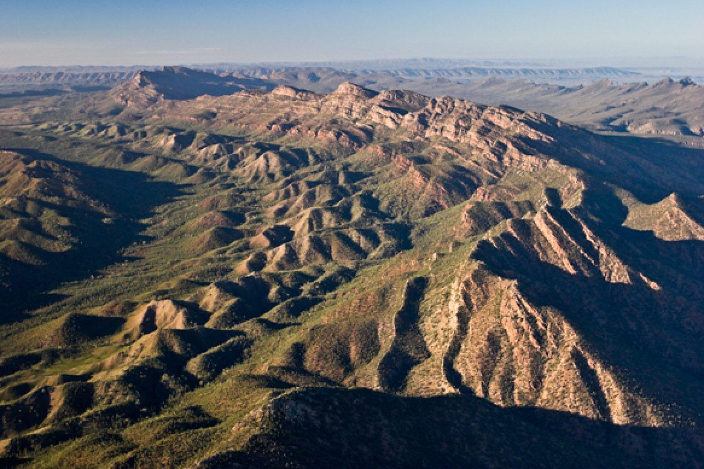 Die Bergkette der Flinders Ranges
