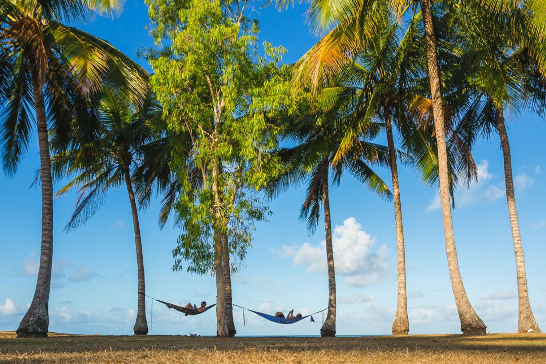 Blijft u in uw hangmat liggen? Of gaat u op pad met een Aboriginal-gids