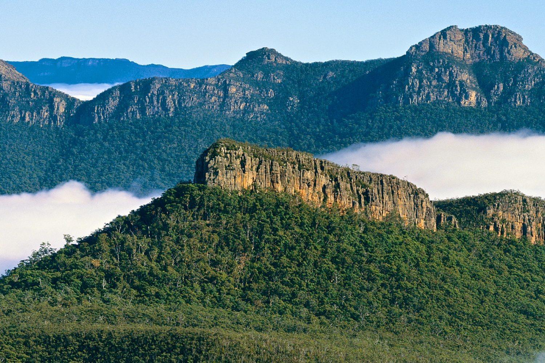 Die Blue Mountains bieten eine beeindruckende Berglandschaft