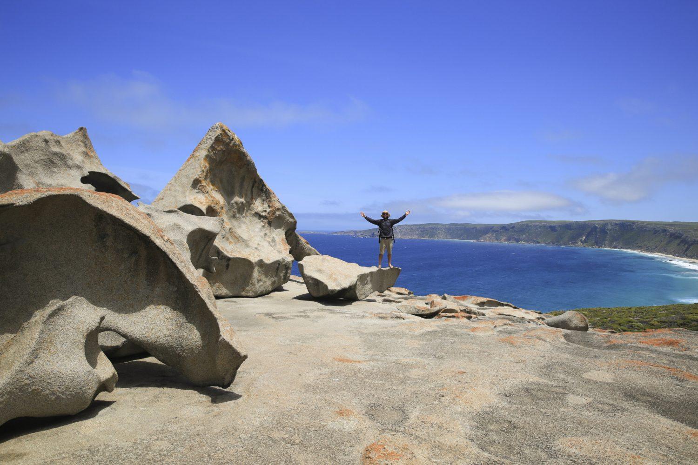 Australien: Kangaroo Island - Remarkable Rocks